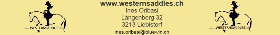 www.westernsaddles.ch - Ein Sattel muss passen - und zwar dem Pferd und seinem Reiter